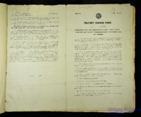 1922 Military Census Form