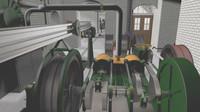 Brennan Torpedo Installation Engine Room